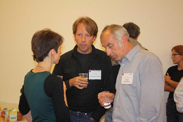 Dorothee Wein, Cord Pagenstecher, and Bernd Körte-Braun.