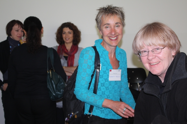Barbara Henkes and Helga Woggon.