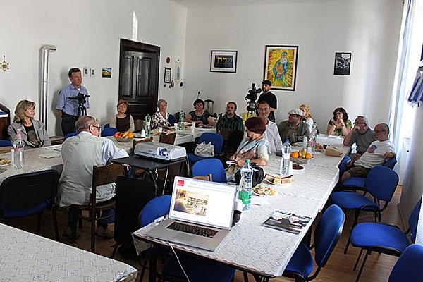 Teacher seminar in Komárno, Slovakia.