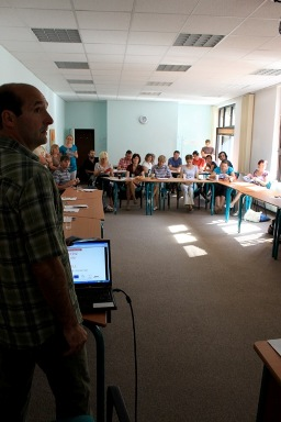 The USC Shoah Foundation Institute trained teachers in the Czech Republic at a seminar organized by Pant o.s.  The seminar took place at the Summer School of Modern History in Ostrava, Czech Republic, on August 29 and 30.