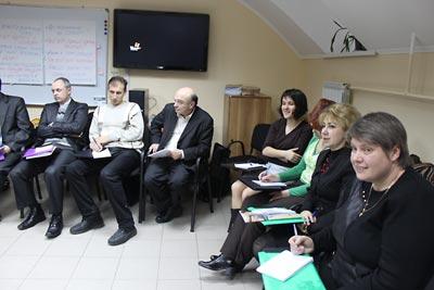 Professor Stanislav Kulchitsky, Anna Lenchovska, and seminar participants.