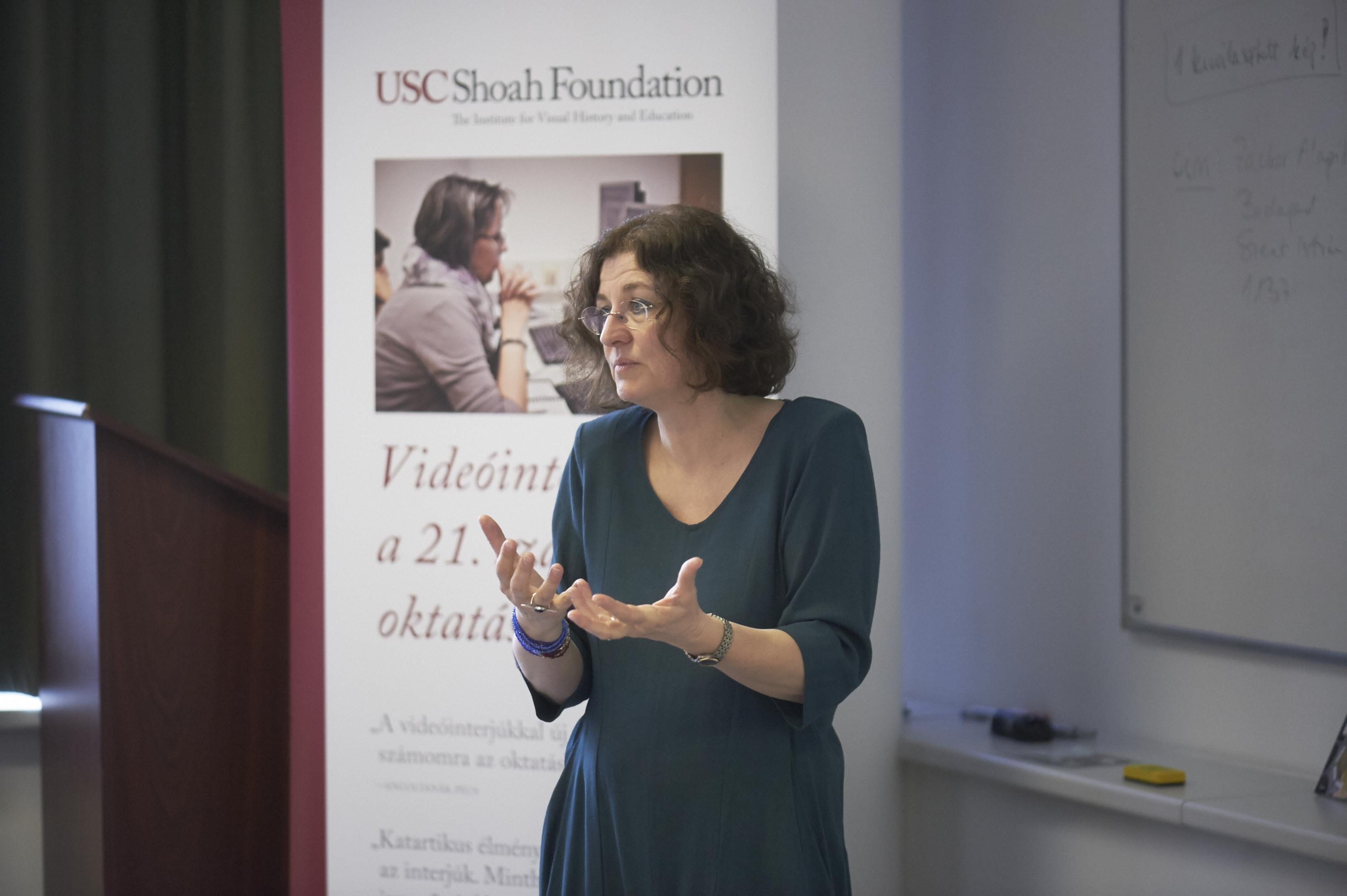 Aletta Firas-Biro at the ITeach seminar