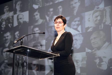 Joanne Hagopian Eknoian, daughter of Armenian Film Foundation co-founder J. Michael Hagopian.