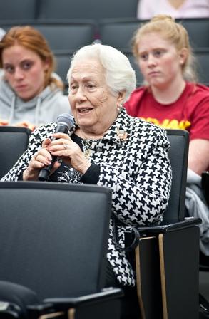 Renée Firestone, survivor of the Holocaust and educator.