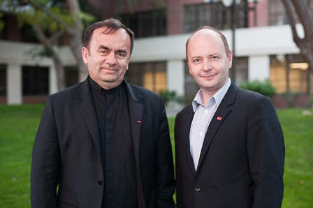 Father Patrick Desbois, and Stephen D. Smith, Executive Director, USC Shoah Foundation Institute.