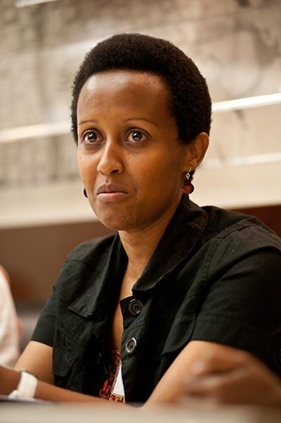Edith Umugiraneza, Rwandan survivor.