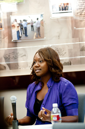 Myeshia Whigham, an educator at High Tech High Chula Vista in Chula Vista, California.