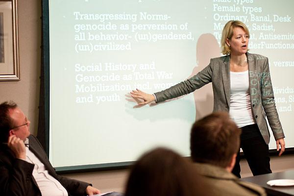 Dr. Wendy Lower defines terminology.
