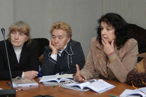 Encountering Memory training seminar in Kyiv, November 2007.