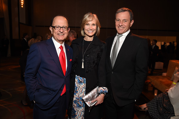 Max Nikias, Willow Bay and Robert Iger