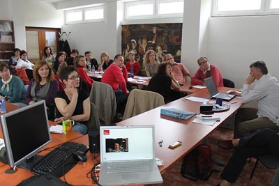 Nitra seminar:  Watching lesson clips already available on the Internet.