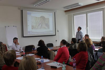 Nitra seminar:  Watching proposals for new lessons.