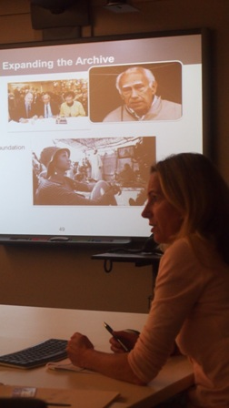 Director of Research and Documentation, Karen Jungblut, discusses plans to expand the Institute's Visual History Archive by including testimony from survivors of other genocides and crimes against humanity.