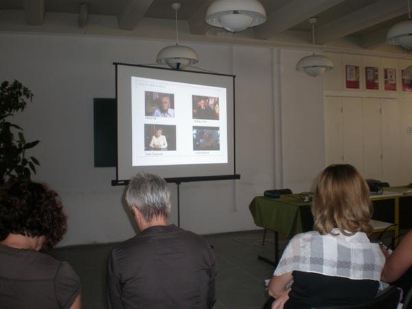 Participants at a teacher training seminar in Split, Croatia.