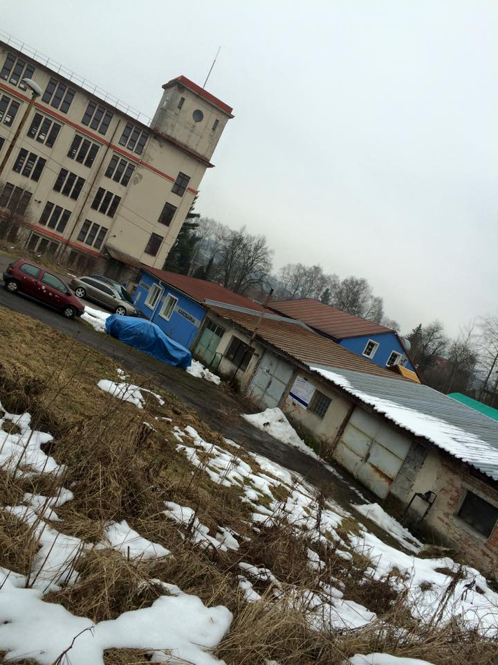 Reichenau factory and camp remains.