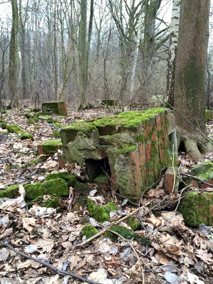 Remains of Spreewerk labor camp.