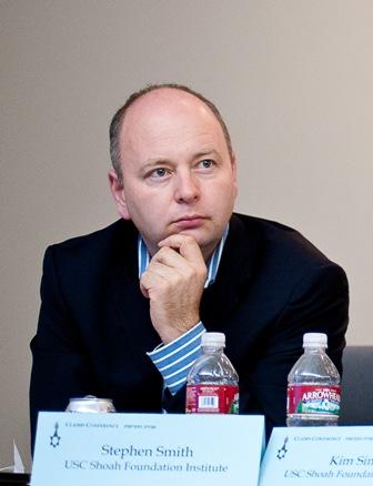 Steven D. Smith, USC Shoah Foundation Institute Executive Director.