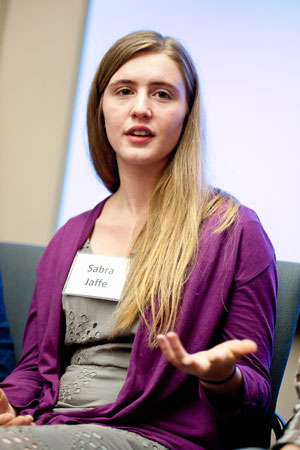 Manovill Holocaust History Fellow Sabra Jaffe.