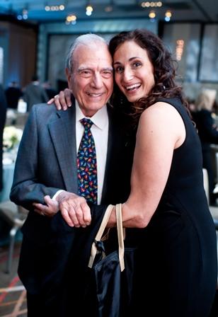 Holocaust survivor Dario Gabbai; and Alicia Brauns.