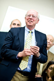 Donald E. Miller, Firestone Professor of Religion, Executive Director of the Center for Religion and Civic Culture, and a Professor of Religion and Sociology at the University of Southern California.