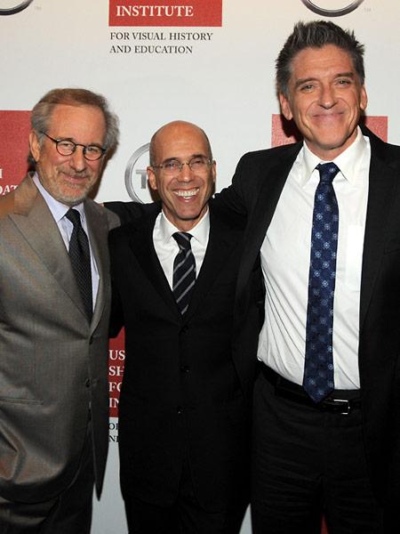Steven Spielberg, Jeffrey Katzenberg, and Craig Ferguson.