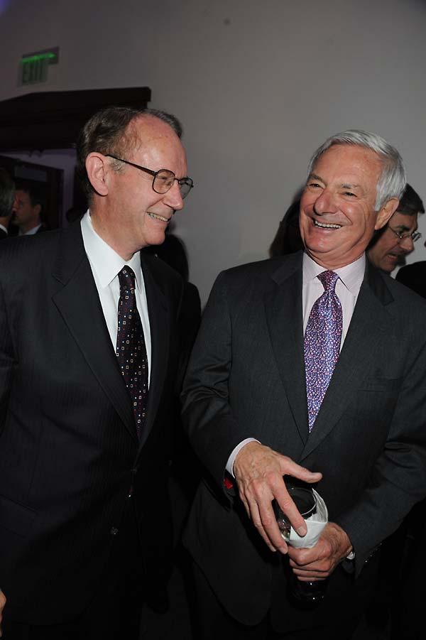 USC President Steven B. Sample, and Bruce Ramer.