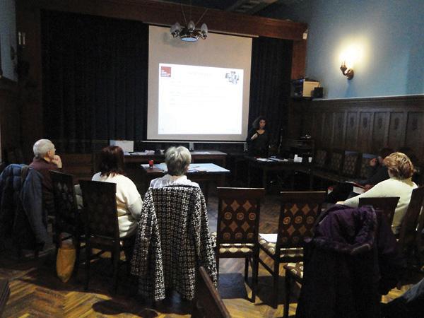 Teacher training in Subotica, Serbia.