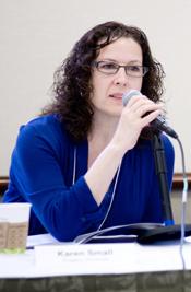 Karen Small, Associate Director of the Allen and Joan Bildner Center for the Study of Jewish Life.
