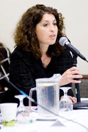 Andrea Szonyi, USC Shoah Foundation Institute Executive Director in Hungary.