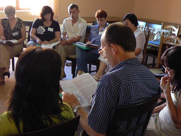 Encountering Memory Train-the-Trainer seminar in Mukachevo, August 2008.