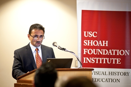 Abdullah Aimaque, Consul-General of Afghanistan in Los Angeles.