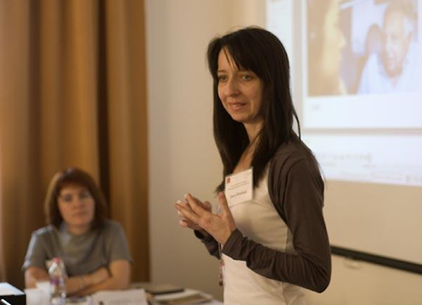 Jana Hradská, Project Manager, Milan Šimečka Foundation, Slovakia.