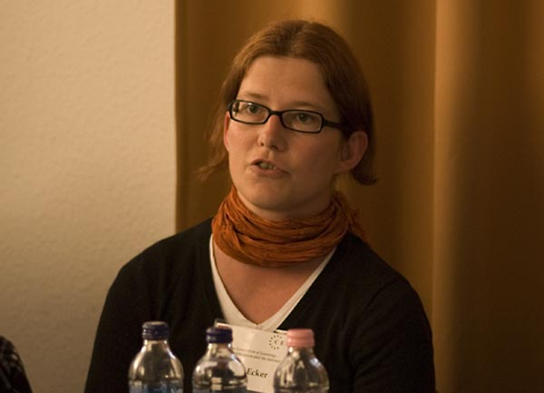 Maria Ecker, educator and teacher trainer, Erinnern.at, Austria.