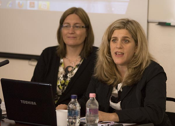 Sheila Hansen, SFI Content Specialist; and Kim Simon, SFI Managing Director.