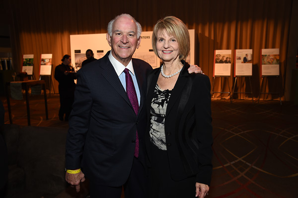 Board Chair Stephen Cozen and Board Member Phyllis Epstein
