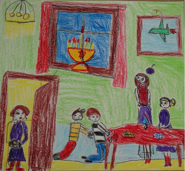 Hanukkah Lesson in Hungary