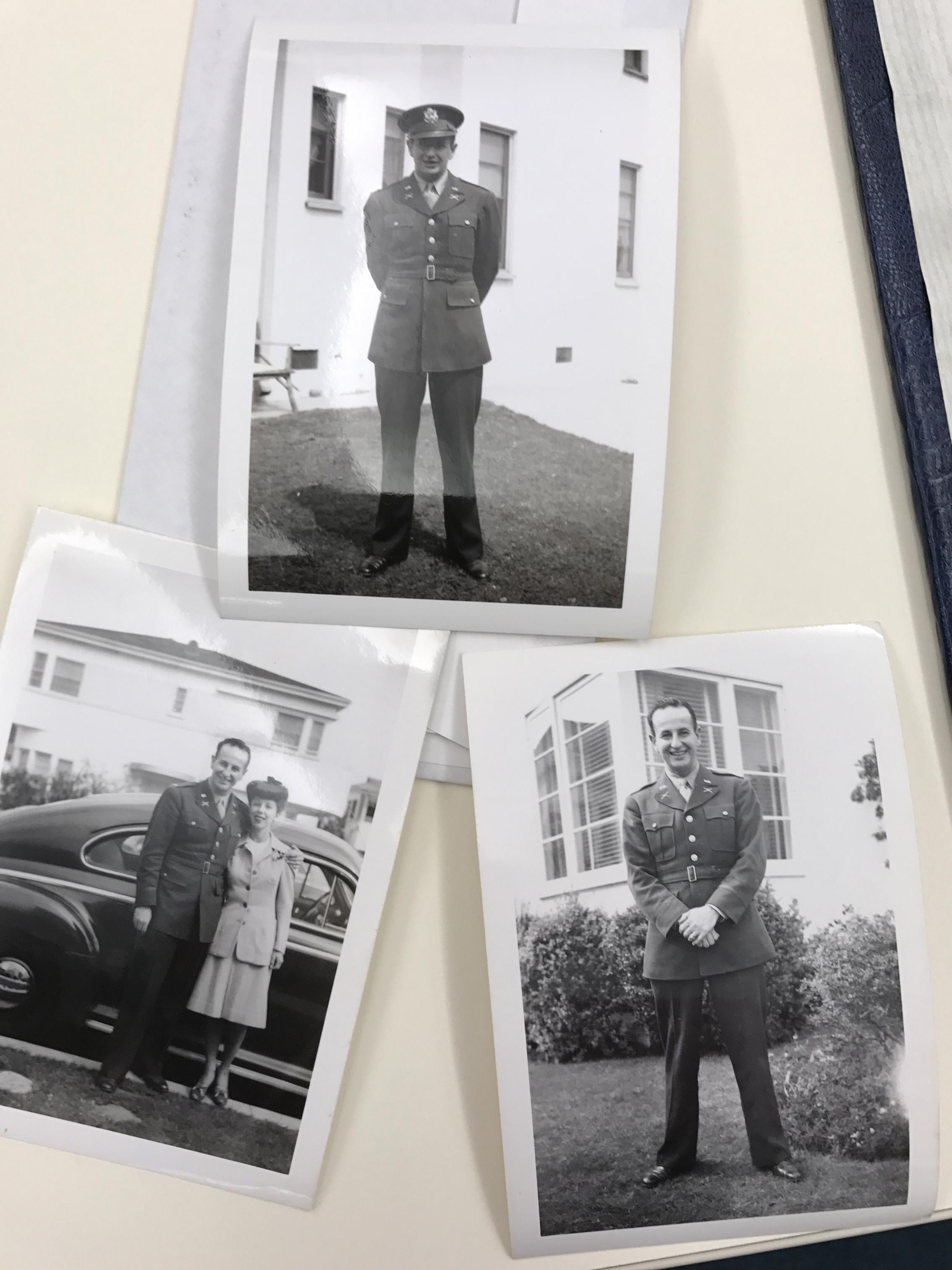 Photos of Lt. Harry K. Wolff, Jr.
