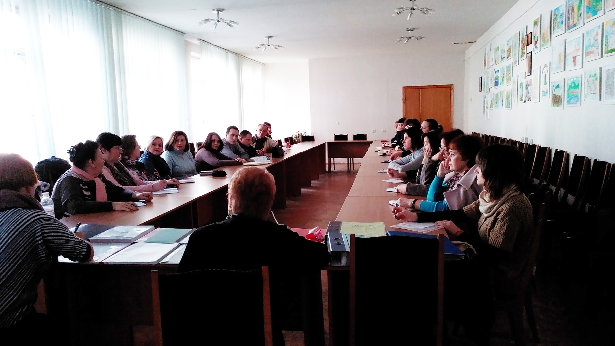 20 teachers attended the workshop in Kyiv