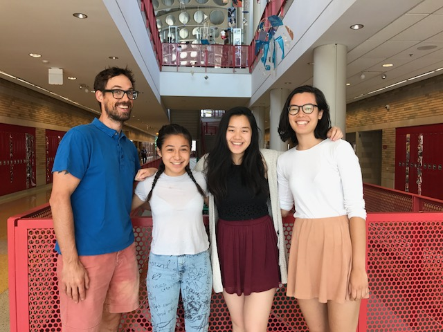From left: Matt Silvia, Alana Chandler, Yu Jing Chen, Natalia Wang