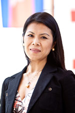 Theary Seng, genocide survivor and founder of the Cambodian Center for Justice and Reconciliation