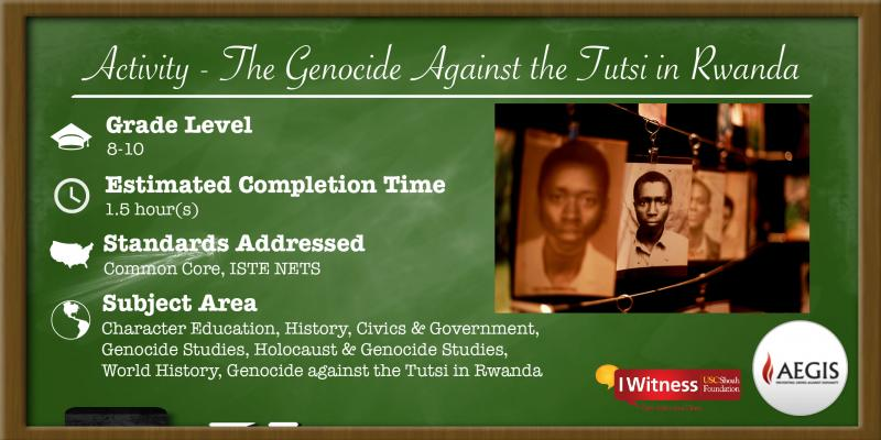 genocide in chile essay In this essay i will be analysing the causes of the rwandan genocide by taking into account factors such as the history of rwanda, the environmental, cultural, political and the role of the media and how they contributed to the mass killings of the rwandan population.