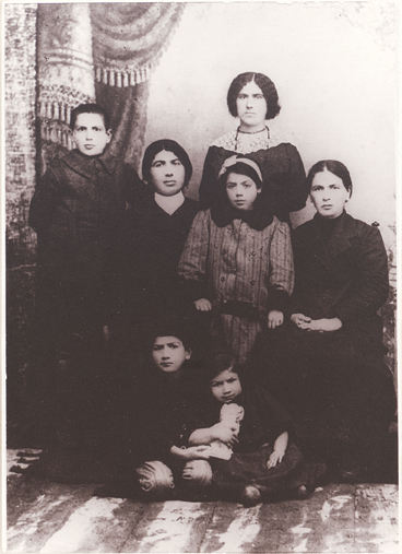 Cohan's family after the Armenian Genocide