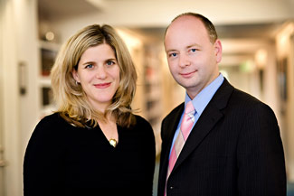 Kim Simon, new Managing Director, and Stephen Smith, new Executive Director