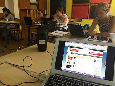 Teachers learn about IWitness at Brno seminar