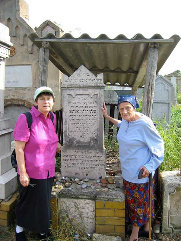 My Aunt, Vera Steinberger, and I returning on a family trip Mako, Hungary. The family was deported to Auschwitz in April 1944 where many of them, including my grandparents, were killed. My mother and several siblings survived the initial gassing and were then sent to slave labor camps making munitions in a Siemens factory. It was a very moving trip for all of us.