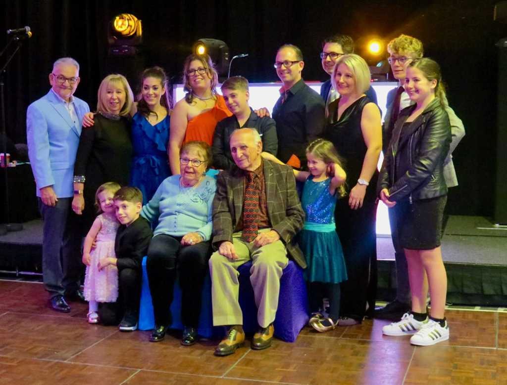 We are blessed to be four generations.