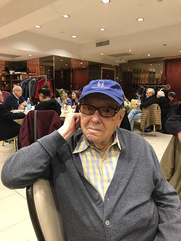 """Steven Salen, NYC (Zoltan Salomon, Czeckoslovakia) at 101 years old. """"Every day I'm alive is a miracle. I can't believe I'm still here."""""""