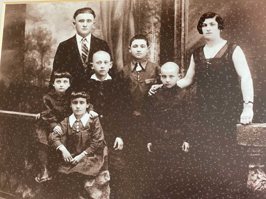 This is my mother's (Genya Kozak) family from Mlynov, Poland in 1930s.