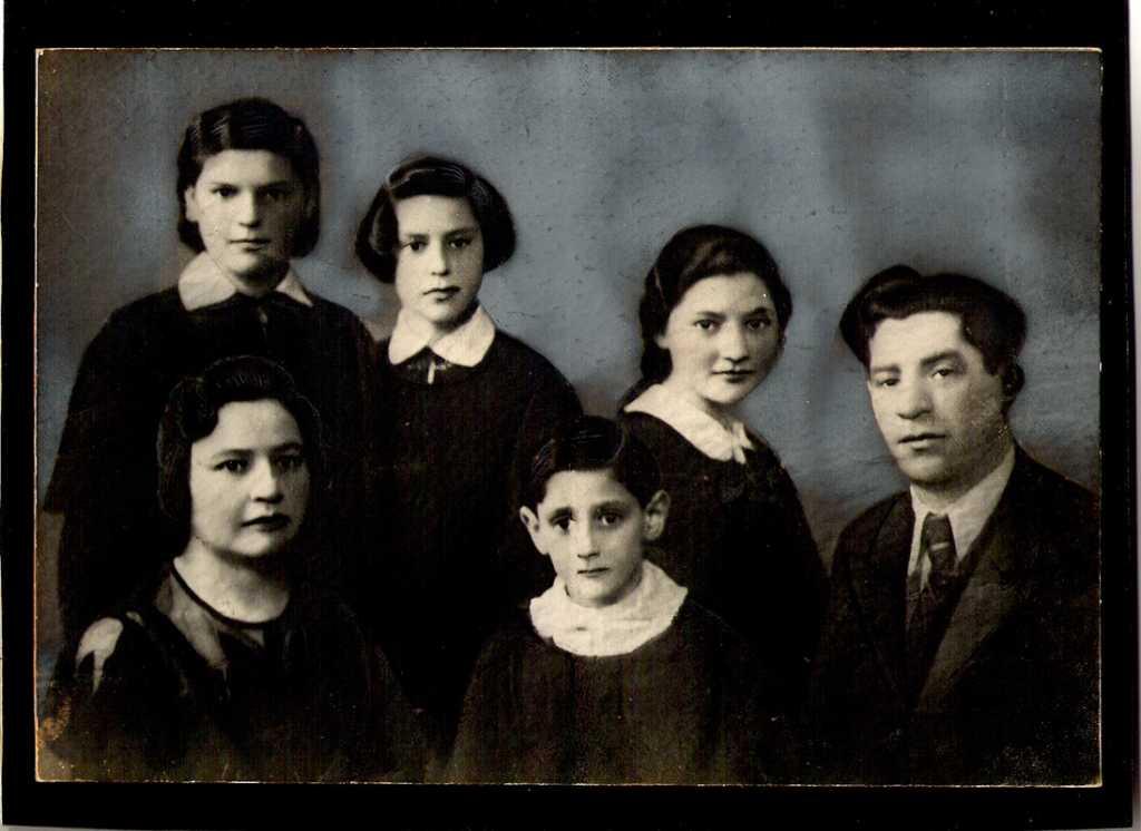 This was the last photo of the Santocki family of Kovno/Kaunas, Lithuania, circa 1940 (pre-Soviet occupation); only 2 survived.