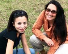 Lauren Fenech and Steffanie Grotz
